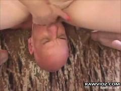 Asshole fucked with a whore in Tutu.