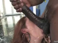Francesca Lee fuck with a black man