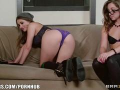 Casting with hot cutie Dani Daniels.
