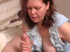 Loose milf fucked with the boy.